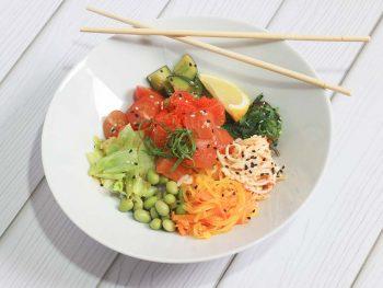 Поке и сашими